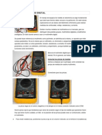 Investigaciòn.fisica 2 Lab-Uso Del MULTÍMETRO DIGITAL