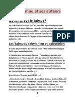 Religion Judaïsme Talmud 1