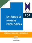 Catalogo de Pruebas Laboratiro de Psicologia