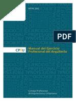 Manual de Ejercicio Profesional Del Arquitecto