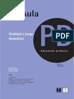 Oralidad y Juego Dramático. Revista Signos