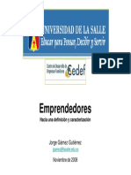 Salle Emprendedores