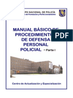 Manual Defensa Personal Policial I