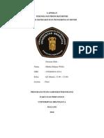 laporan Metode Ekstraksi Dan Pengeringan Biji