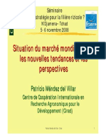 20081113191015 9 Situation Du Marche Mondial Du Riz Et Perspectives Seminaire Filiere Riz Au Tchad Patricio Mendez Del Villar