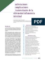 34 Manifestaciones y Complicaciones Extraintestinales de La Enfermedad Inflamatoria Intestinal