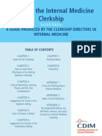 Primer to IM Clerkship