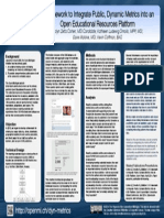 A Framework for Dynamic Metrics for an OER Platform