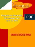 Programa de Intervención en Lenguaje