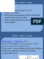 Model Atom Fisika