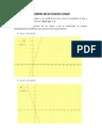 Análisis de Funciones Con Geogebra