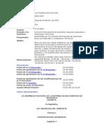 Ley Organica de Ambiente 22122006