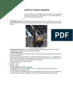 Equipos de Perforación en Minería Superficial