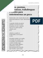 Coplas Poemas Adivinanzas Trabalenguas y Chistes Para Entretenernos Un Poco