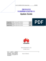 Huawei g610-u15 v100r001c527b112 Update Guide
