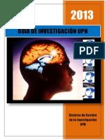 2013 Guía de Investigación Upn (1)