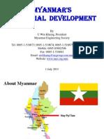 Industrial Development in Myanmar 1