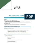BU121 Course Package PDF (1)