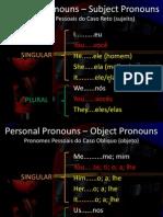 Andre Botoni ENGLISH - aula 13 - Personal Pronouns (Subject & Object).ppsx