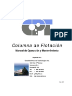 Column Opn & Mtce Manual - SPANISH Rev 9-00