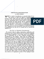 Murray, Definitive Sanctification