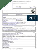 ÁCIDO NÍTRICO 98 Sistemasinter.cetesb.sp.Gov.br Produtos Ficha Completa1