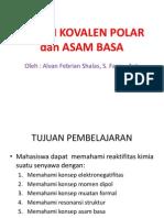 Ikatan Kovalen Polar Dan Asam Basa - Kimor 2