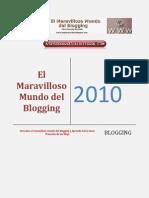 El Maravilloso Mundo Del Blogging
