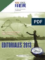 Web La Voz Del Ujier -EDITORIALES 2013