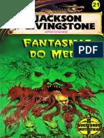 Aventuras Fantásticas 21 - Taverna Do Elfo e Do Arcanios - Fantasmas Do Medo