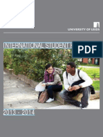University of Leeds International Student Handbook 2013 14