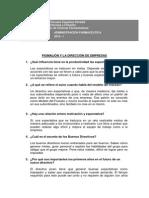 Lectura Pigmalión y La Dirección de Empresas