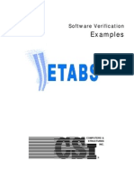 Software Verification ETABS