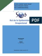 Tarea de Epidemiología