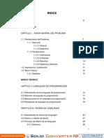 Informe final sobre Ingeniera de Software