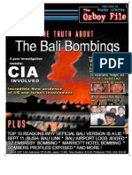 The Truth About the Bali Bombings 2002