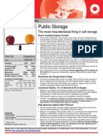 Macquarie Public Storage Note