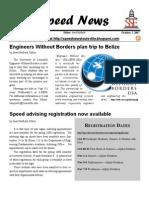 Speed News October 2, 2007