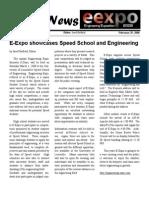 Speed News February 29, 2008 (E-Expo)
