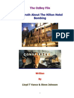 Truth About the Hilton Hotel Bombing