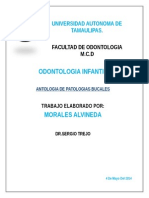 ANTOLOGIA PATOLOGIAS BUCALES