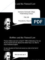 Hobbes and the Natural Law