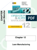 Lean Manufacturing: