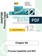 Process Capability and SPC :  operations management