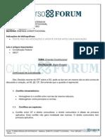 Turma Regular Intensiva 2013.1 (Presencial) Manhã - Direito Constitucional - Aula 07 - 25.03.13