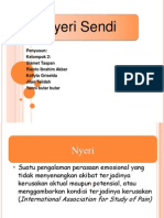 Fisiologi Manusia - Nyeri Sendi