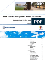 Crewresourcemanagementinogindustry Upstreamindiadrillingsector 140116065540 Phpapp02