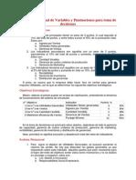 Análisis Relacional de Variables y Puntuaciones Para Toma de Decisiones