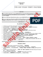 Business English - Test 01 - Sample