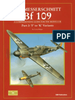 184760566 SAM Modellers Datafile 10 the Messerschmitt Bf 109 Part 2 F to K Variants